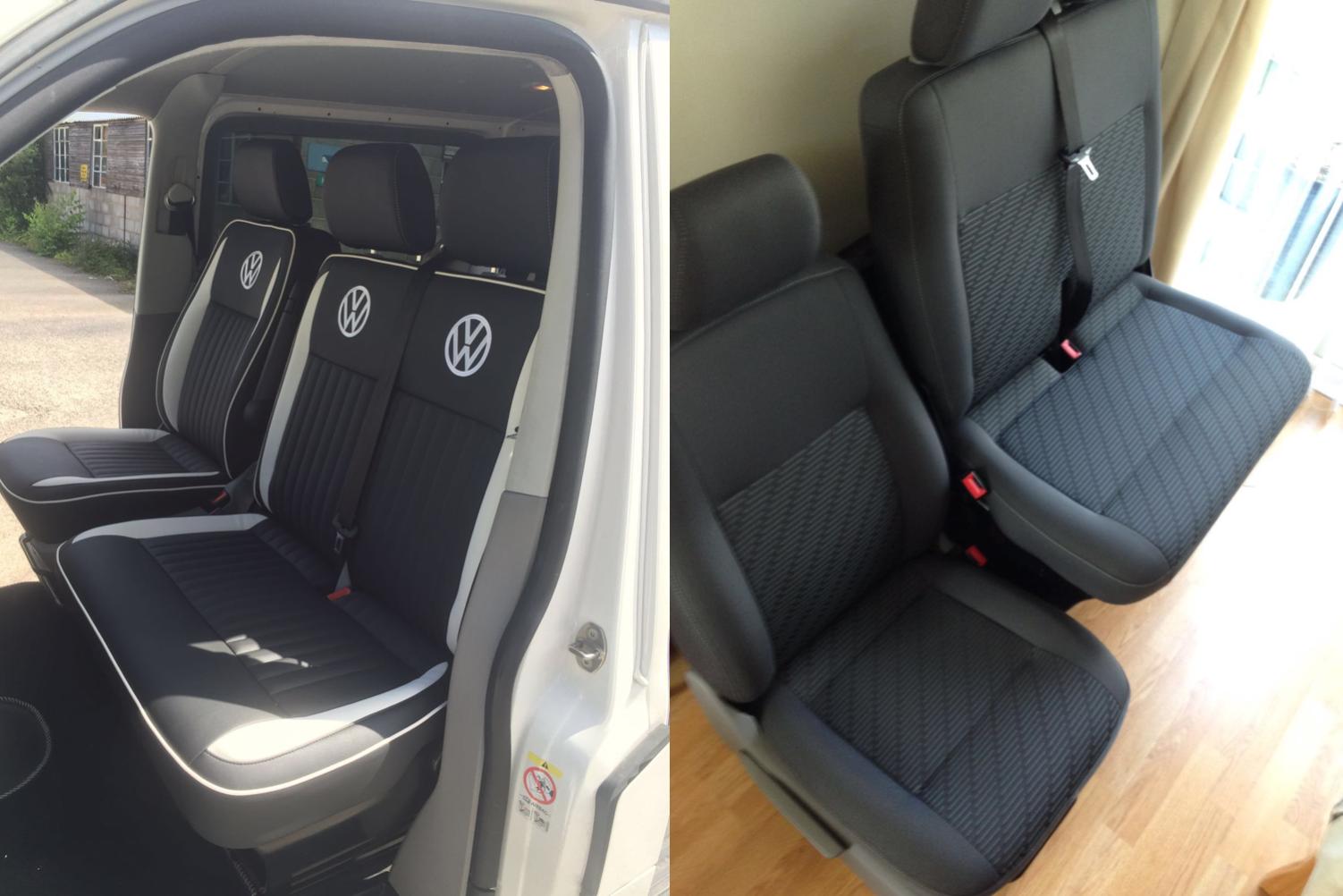 CSG Trimming Southampton. VW Camper Seat Retrim