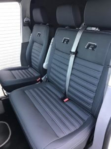 CSG Trimming van seats recovered