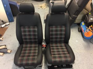 seat retrim by csg trimming, southampton